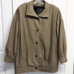 Vintage J Gallery Heavy Coat Size 13  /  14 Wool